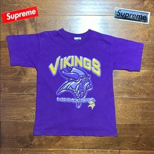 Single stitch vintage NFL 90s Minnesota Vikings